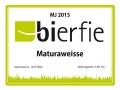 Etikett Maturaweisse 2015