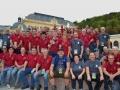2. Juroren und Mitarbeiter 2017 vor dem Casino Baden